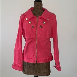 Etcetera Pink Denim Jacket